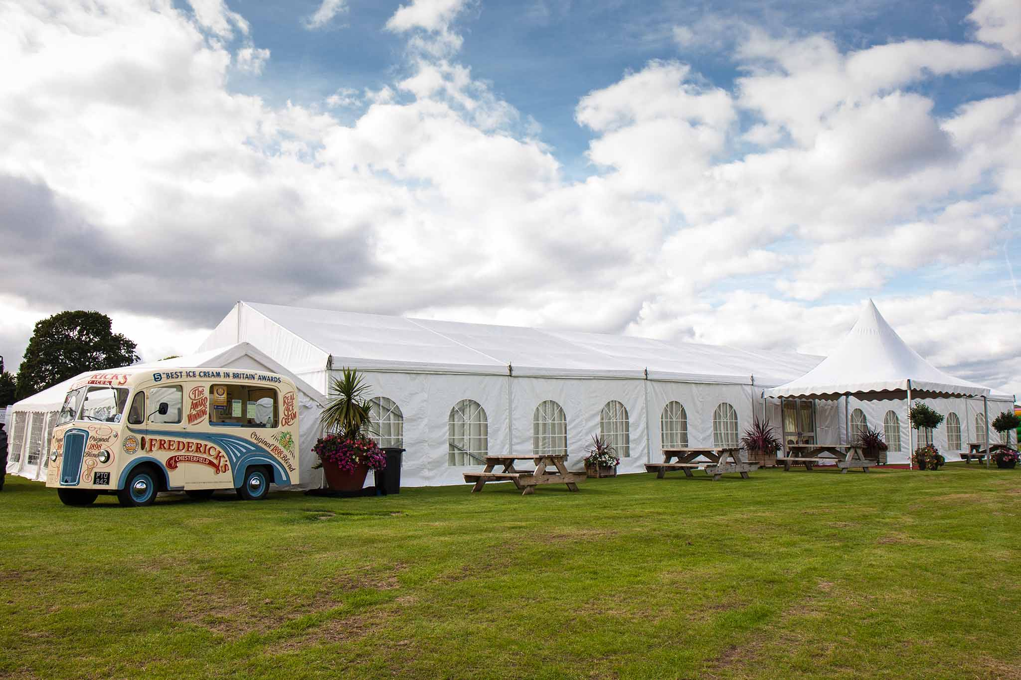 Marquees to hire Chesterfield